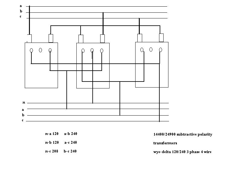 Old Fashioned Wye Delta Transformer Wiring Diagram Picture ...
