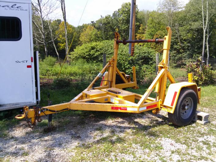 Jtc Electric Over Hydraulic Cable Reel Trailer 3000 00