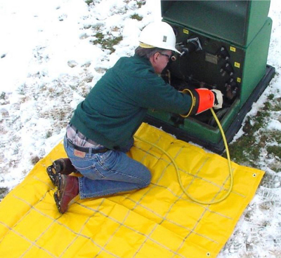 Hastings' Ground Mat Protects Lineworkers